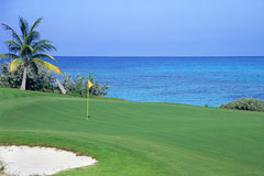 golf course - exuma, bahamas