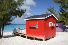 san salvador beach houses - bahamas